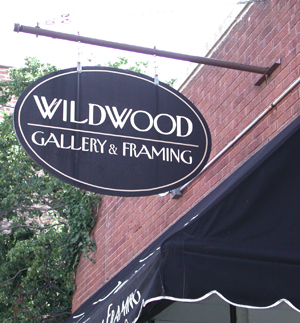Wildwood Gallery and Framing sign